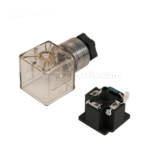 DIN 43650A Solenoid valve connector PG11 LED with Indicator DC24V VOLT,AC220V VOLT