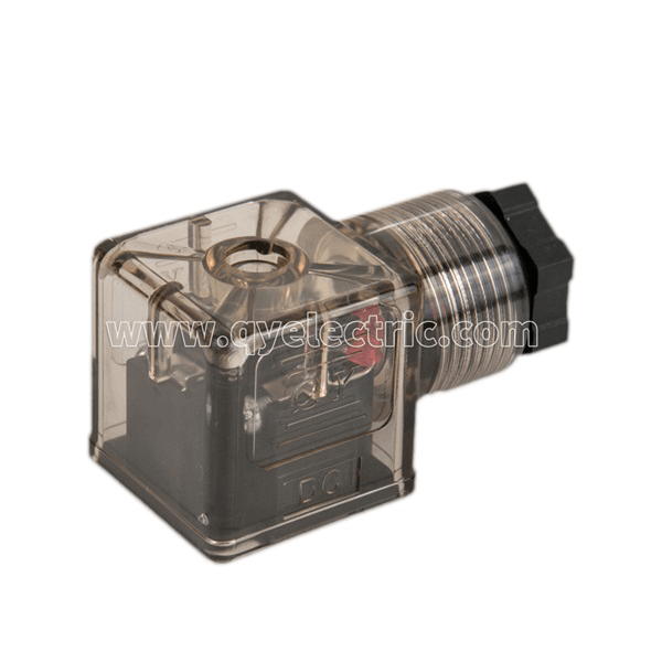 DIN 43650A Solenoid valve connector PG11 LED with Indicator DC24V VOLT,AC220V VOLT Featured Image