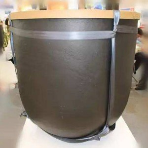 China Fabrikant High Purity Carbon Graphite Crucible voor smelten