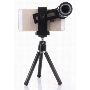 NEW Universal phone telescope-12x smartphone telephoto lens-all purpose mobile cell phone camera zoom lens