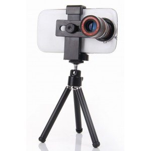 Universal smartphone telescope-8x cell phone lens-mobile phone camera zoom lens