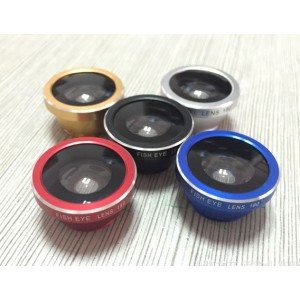 Super clip lens- 3 in 1 fisheye lens-new super wide angle marco lens