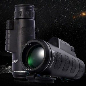 New style 12×42 monocular telescope, big objective lens wide green coating, waterproof and high quality