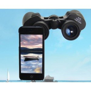 iPhone binoculars-8x camera telescope mount-mobile phone binoculars adapter optake