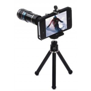 12X telescope lens for iPhone- 12x iPhone zoom lens-12x iphone telephoto lens optake