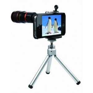 8x iphone telescope-8x iphone telephoto lens-smartphone camera lens with tripod