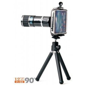 Samsung S4 12x camera lens-wide angle telescope for Samsung Featured Image