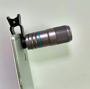 NEW iPhone telephoto lens for mobile phones, 12x iphone telescope with full aluminum metal body, high quality craftwork