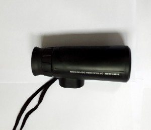 gift monocular-waterproof telescope night vision-10x high clear big green coating objective lens