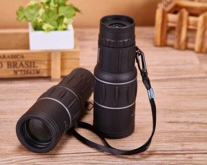 Factory directly supply Supervalue16x52mm Great Power Large Objective Lens Green Coating Monocular Scope for Singapore Importers Featured Image