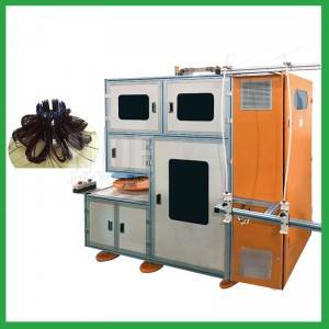 Washing Machine Electrical Motor Automatic Stator Winding Machine with 2 Winding Heads – motor making machine supplier