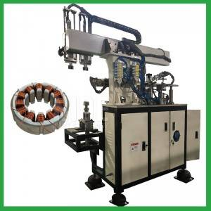 Servo brushless motor BLDC stator needle coil winding machine