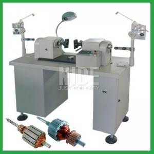 Semi-auto Power Tool Motor Armature Rotor Coil Winding Machine