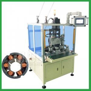 Automatic BLDC Stator Needle Winding Machine for Bladeless Fan Motor