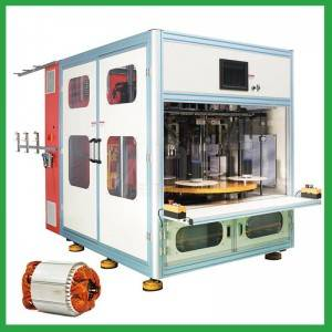 Automatic 4 stations stator coil winding machine for electric induction motor