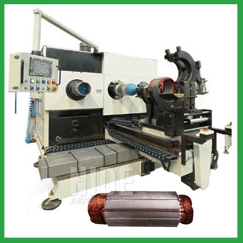 Stator coil winding inserting and expanding machine Featured Image