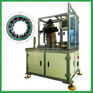 Single station BLDC stator Single needle coil winding machine