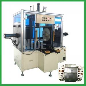 Horizontal Type Stator Winding Final Forming Machine for deep water pump motor
