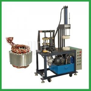 Economic type stator coil final forming machine