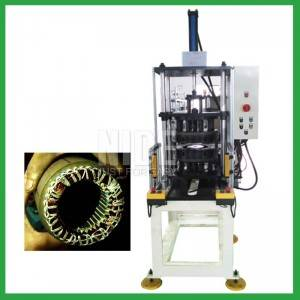 stator coil shape expanding and forming machine