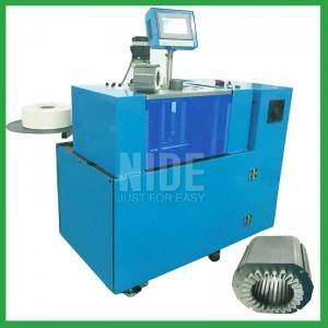 Automatic multi slot shapes Stator Slot insulation paper inserting Machine