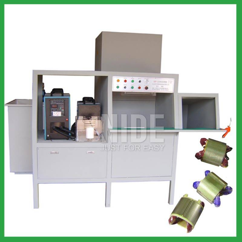 Automatic Stator Coil Powder Coating Machine Featured Image