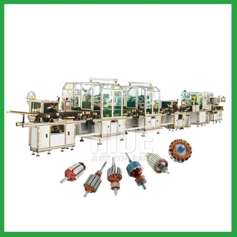 Automatic armature manufacturing machine Featured Image