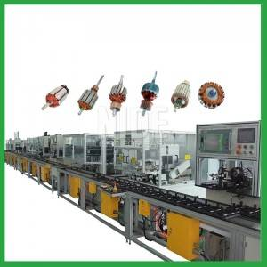 Rotor automatic production machine