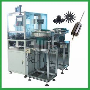 Auto Armature Plastic End Plate/Cover Pressing Machine