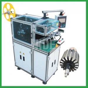 Auomatic motor Rotor slot insulation paper inserting machine
