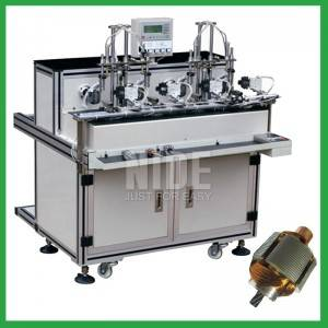Auto four stations Small Motor Armature Coil Winding machine