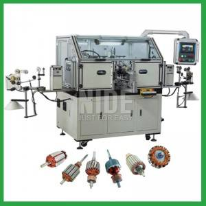 Automatic vacuum cleaner rotor winding machine -flyer winding machine supplier