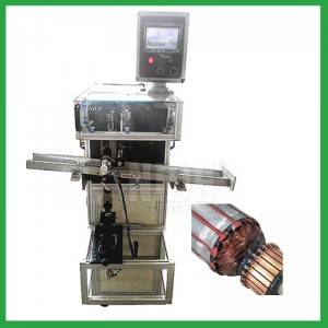 Electric motor Rotor wedge inserting machine