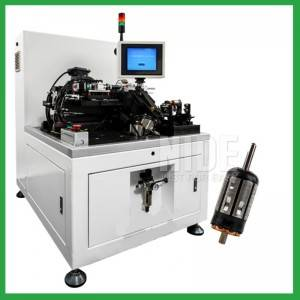 Semi-Auto manual Rotor Balancing Machine for electric motor armature