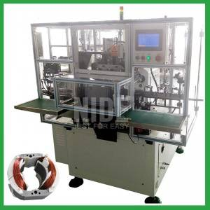 Auto 3 stations 2 poles electric motor stator coil winding machine manufacturer in China