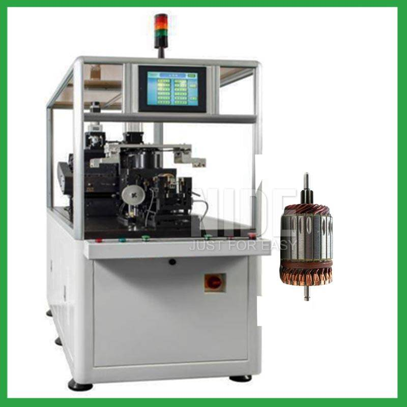 Automatic two station armature balancing and cutting machine Featured Image