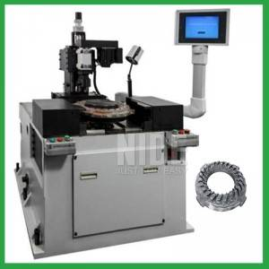 Vertical type drilling or milling rotor balancing machine