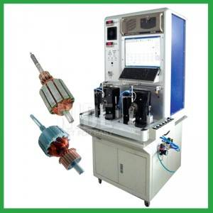 Automatic motor Armature Testing Machine for power tool and vacuum cleaner
