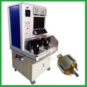 Automatic double stations armature rotor testing equipment machine