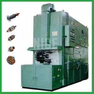 Automatic armature rotor varnish plant insulation protect trickling machine