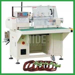 Economic type stator coil winding machine with 1-4 coil winding