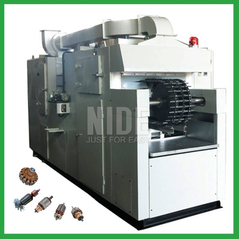 Automatic armature varnish rolling impregnation machine Featured Image