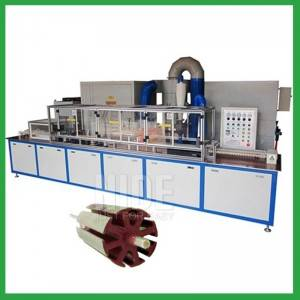 Automatic Heating Rotor Coating Machine oven