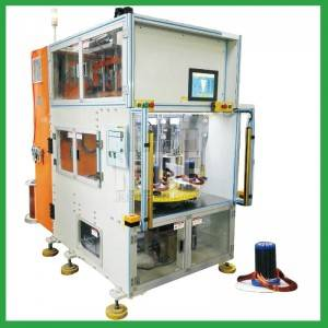4 working stations Vertical Type Automatic Stator Wire Winding Machine