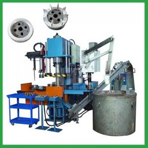 4 stations 60T  motor rotor Aluminum die casting machine for sale