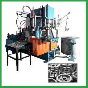 Automatic 90T Four working stations armature rotor aluminum die casting machine