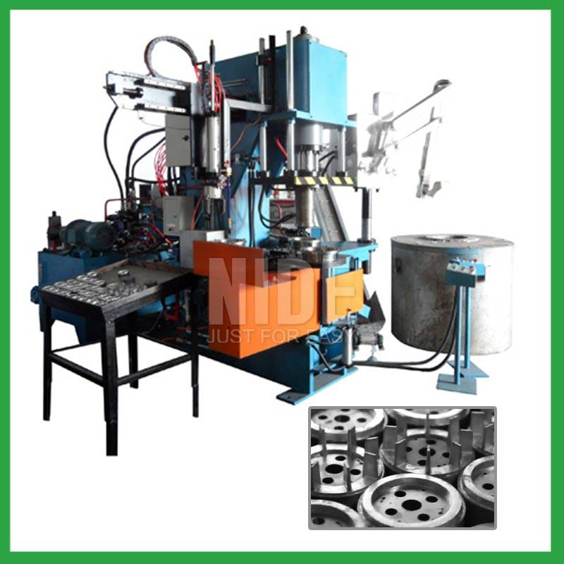 Automatic 90T Four working stations armature rotor aluminum die casting machine Featured Image