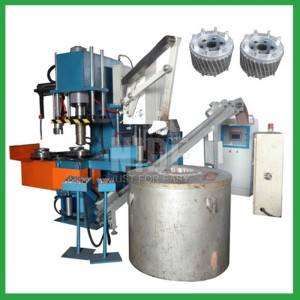 Automatic electric motor 80T armature Aluminum rotor die casting machine