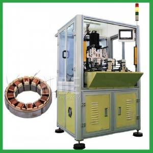 Double stations BLDC Stator Needle Winding Machine-electric motor winding machine manufacturer