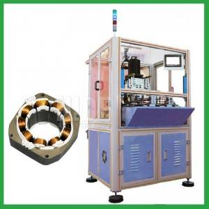 Auto single station BLDC stator Inner needle winding machine